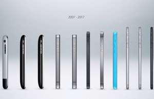 iPhone 10 ani aniversare