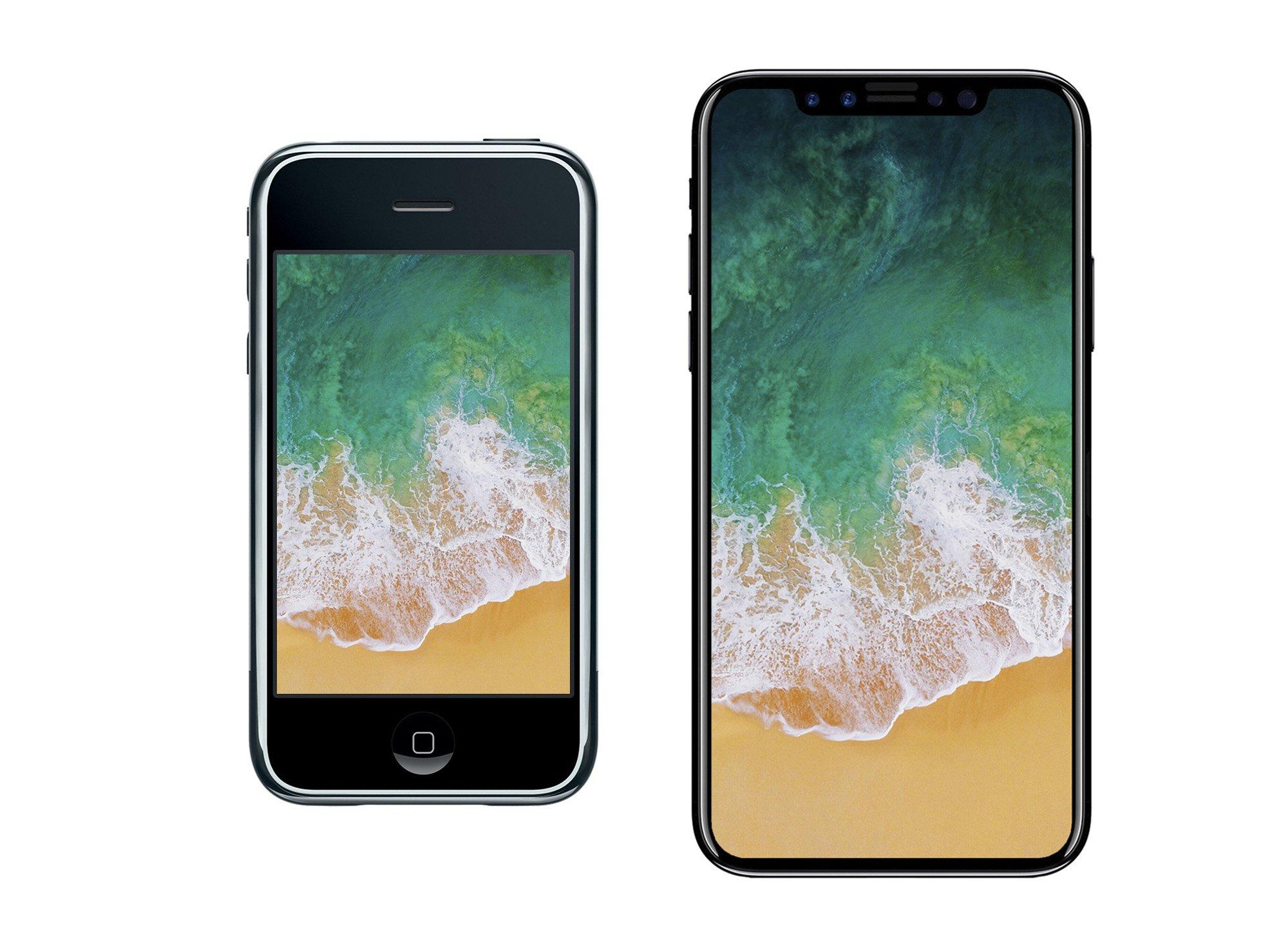 iPhone 2G vs iPhone 8