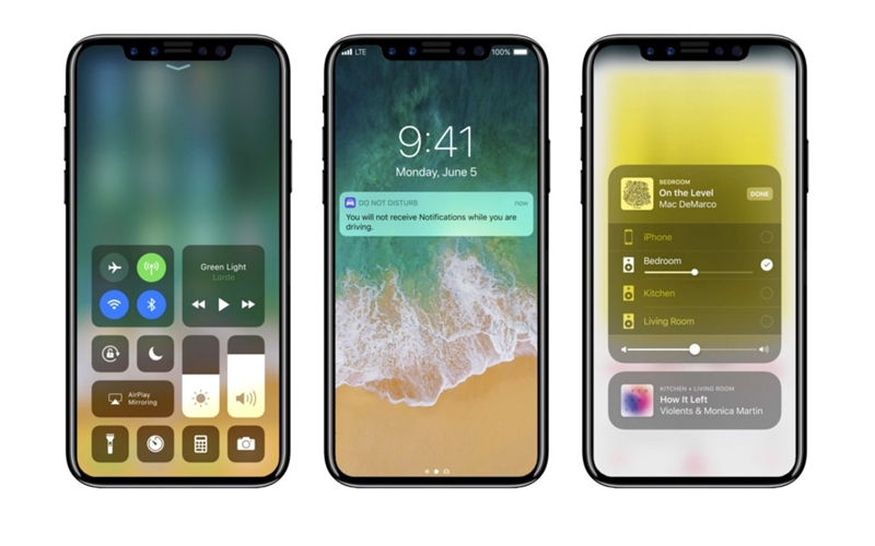 iPhone 8 Touch ID design urat