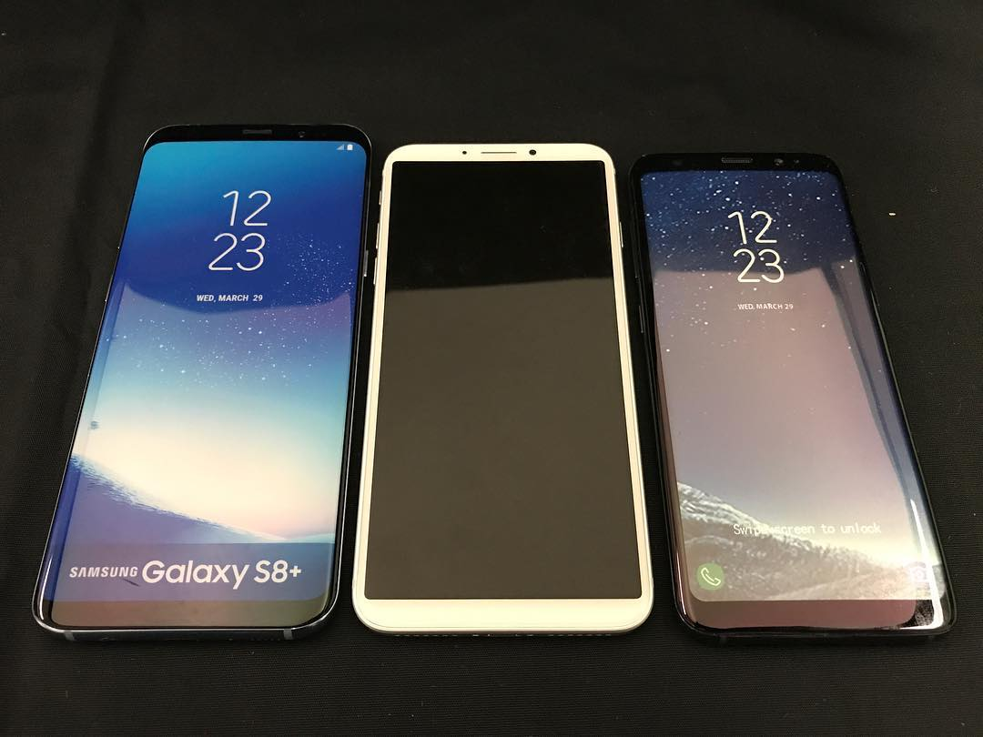 iPhone 8 comparat Samsung Galaxy S8