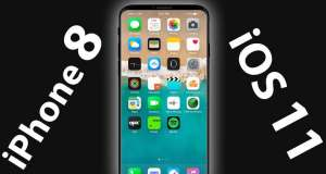iPhone 8 concept Samsung Galaxy S8 iOS 11