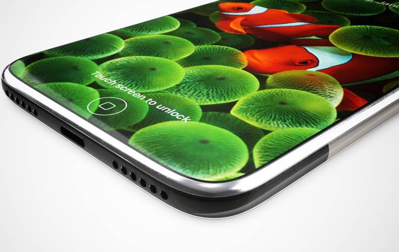 iPhone 8 concept smartphone flexibil