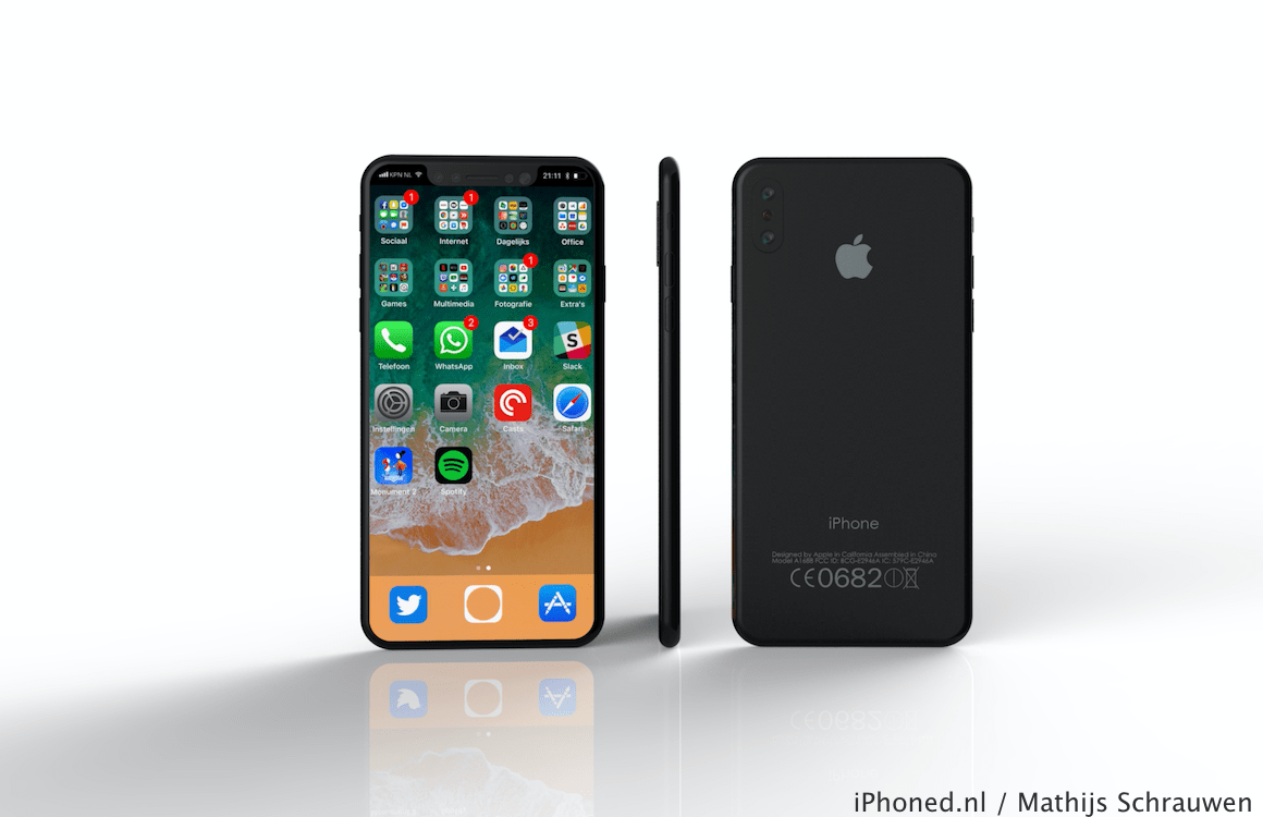 iPhone 8 iOS 11 concept 1