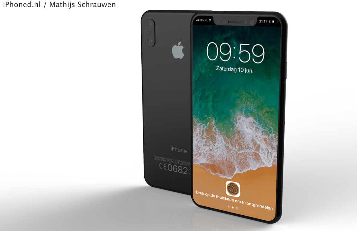 iPhone 8 iOS 11 concept 2