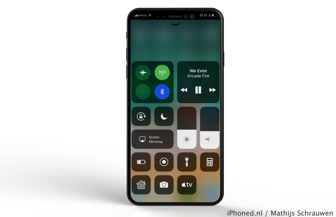 iPhone 8 iOS 11 concept 5
