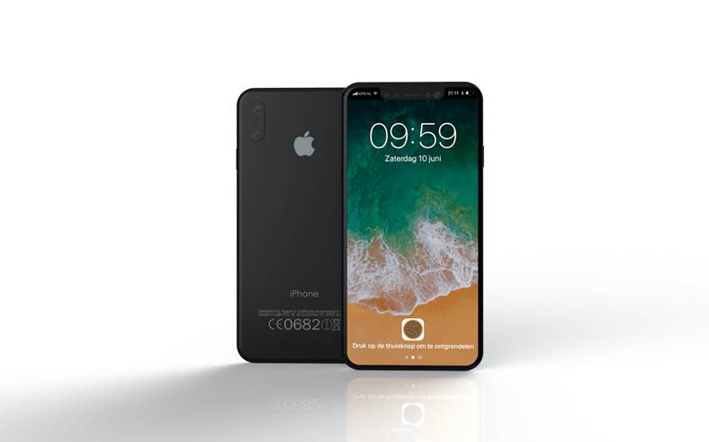 iPhone 8 iOS 11 concept iunie 2017