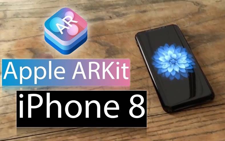 iPhone 8 realitate augmentata ARKit iOS 11