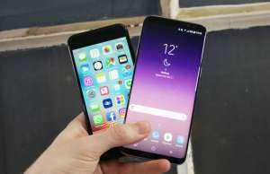 iPhone transforma Samsung Galaxy S8 jailbreak