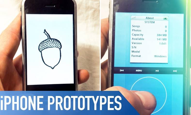 iphone prototipuri 2007