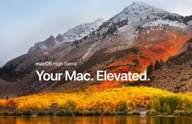 macOS High Sierra noutati Mac