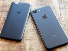 oneplus 5 comparatie iphone 7 plus copiat
