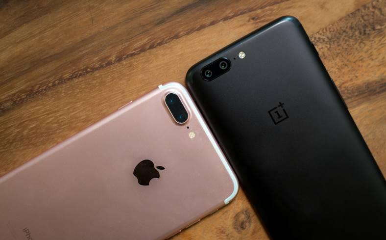 oneplus 5 copiat problema iphone