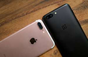 oneplus 5 performante iphone 7 plus