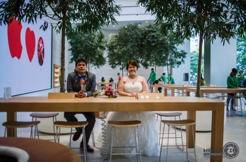 poze nunta apple store 4