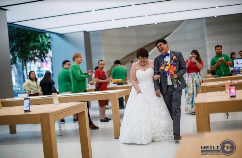 poze nunta apple store 6
