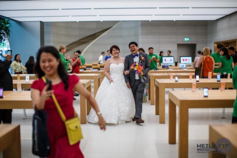 poze nunta apple store 7