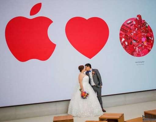 poze nunta apple store feat