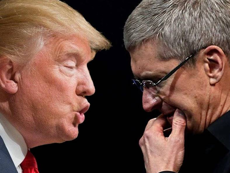 tim cook critica donald trump