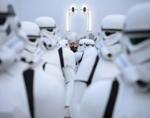 AirPods EarPods inspirate Star Wars