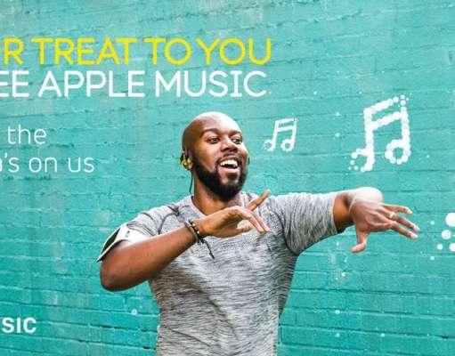 Apple Music gratuit 6 luni