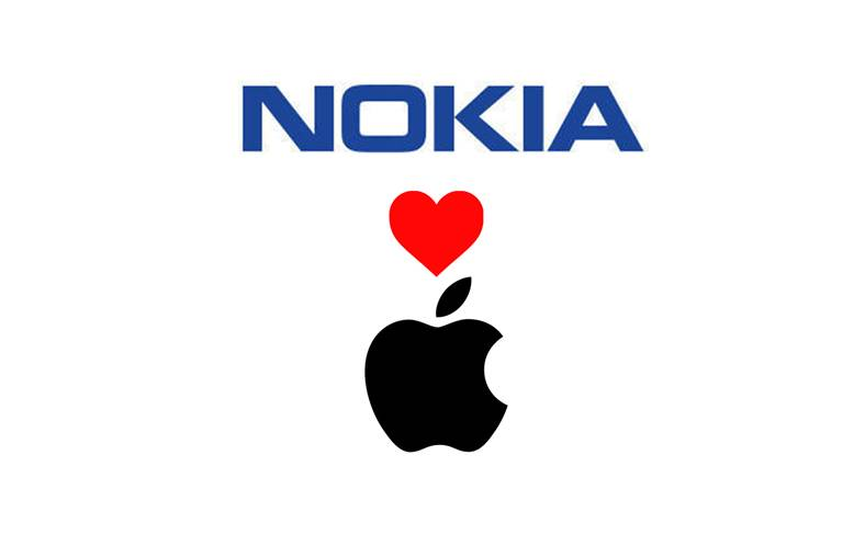 Apple plateste licente Nokia