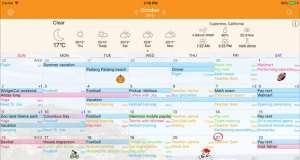 Awesome Calendar o aplicatie calendar excelenta, oferita pret redus
