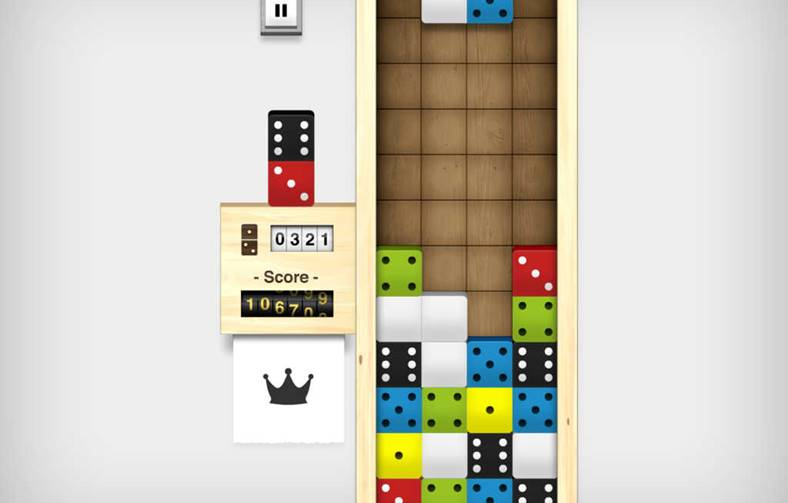 Domino Drop iphone ipad
