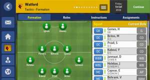 Football Manager Mobile 2017 pret redus