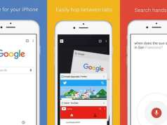 Google Chrome noua Actualizare iPhone iPad