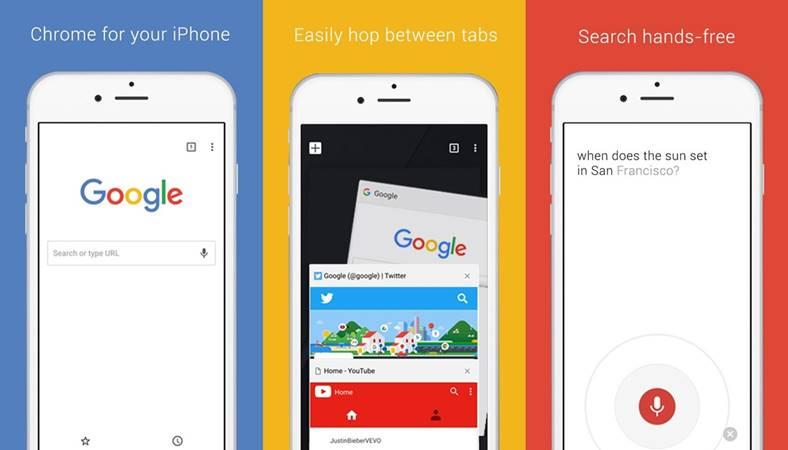 Google Chrome noua Actualizare iPhone iPad
