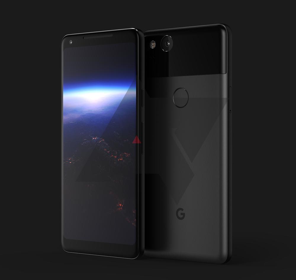Google Pixel 2 XL specificatii design