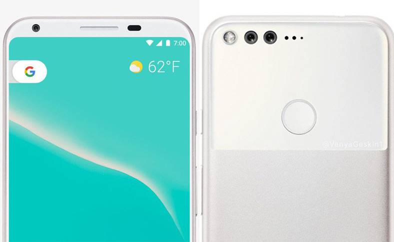 Google Pixel 2 ecran impresionant