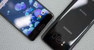 HTC U11 performante Samsung Galaxy S8