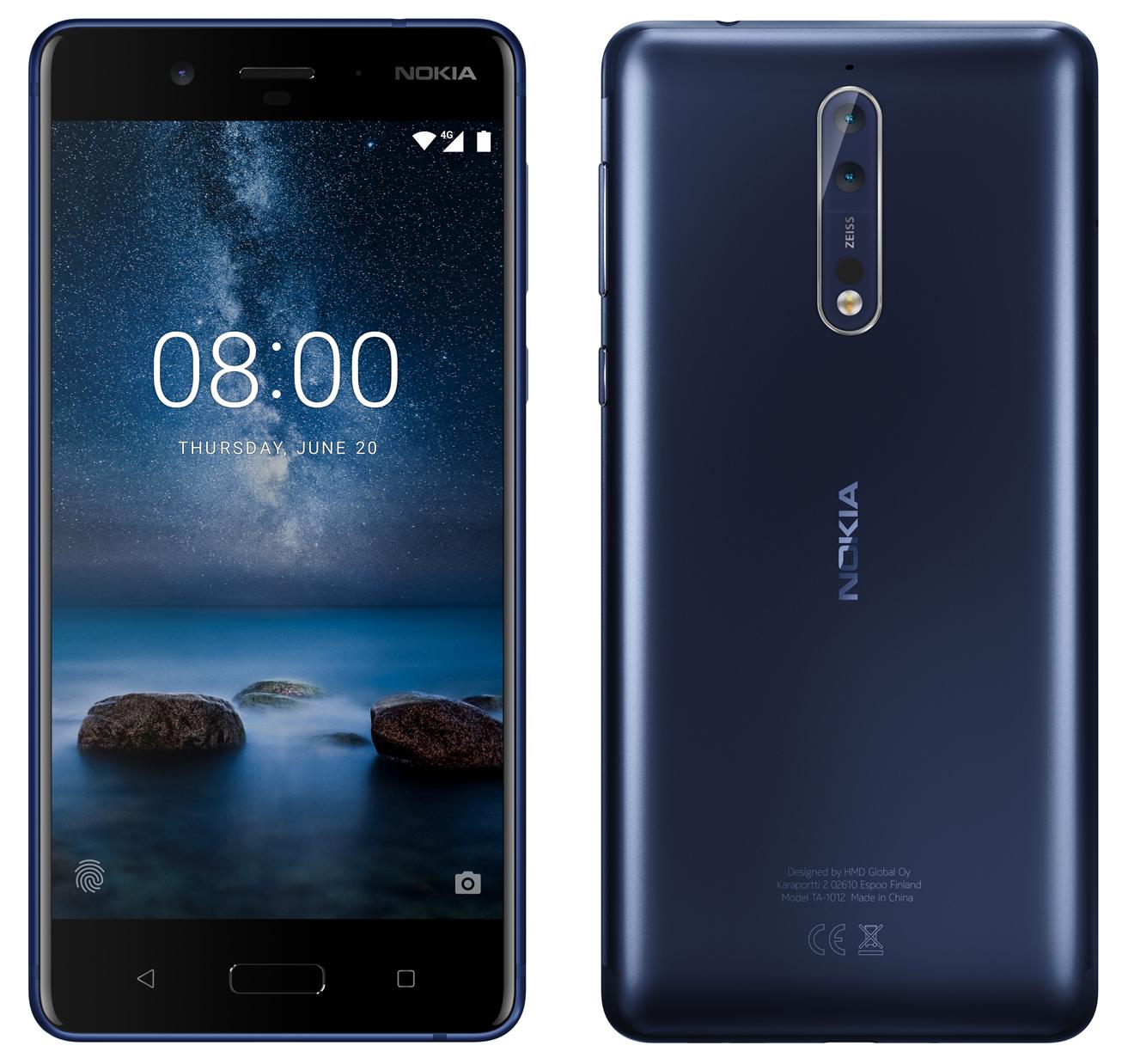 Nokia 8 imagine oficiala