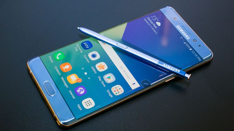 Samsung Galaxy Note 7 FE funtii galaxy s8