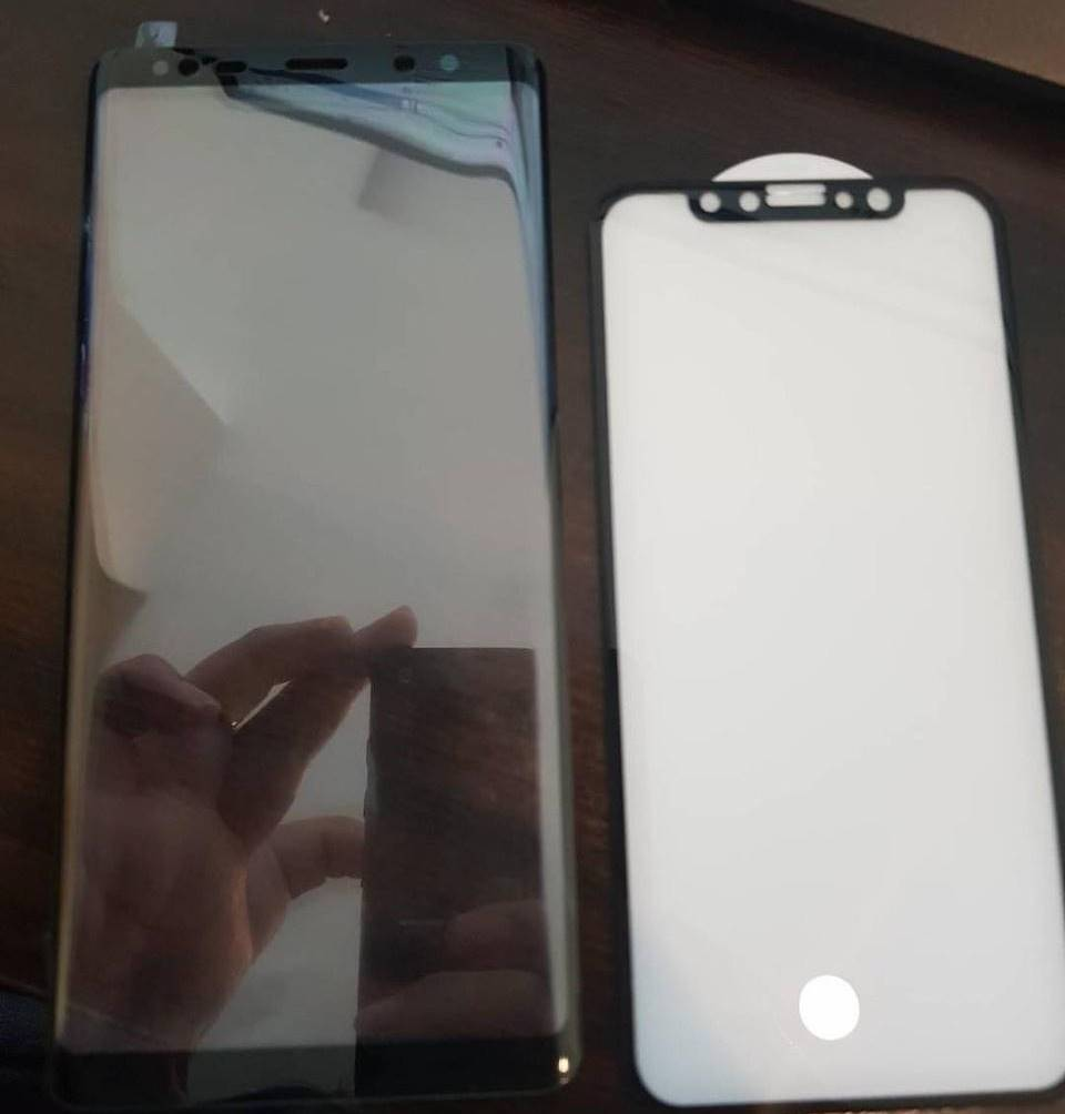 Samsung Galaxy Note 8 comparat iPhone 8