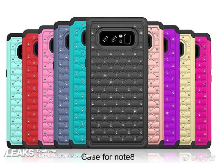 Samsung Galaxy Note 8 design carcasa 1