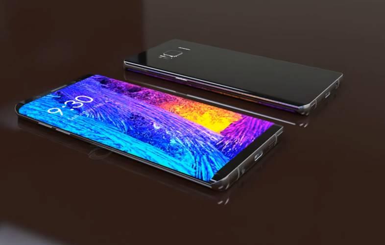 Samsung Galaxy Note 8 design final 2017