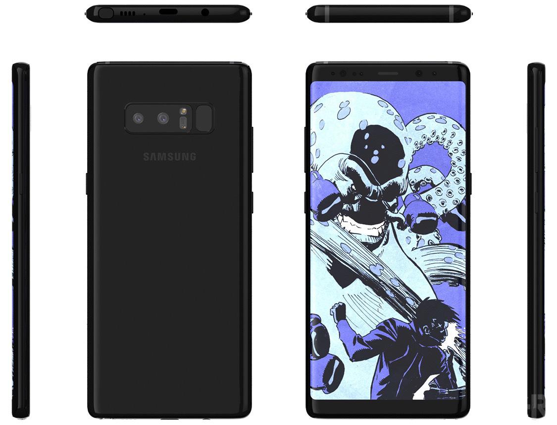 Samsung Galaxy Note 8 mare problema