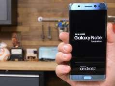 Samsung Galaxy Note FE baterie sigura