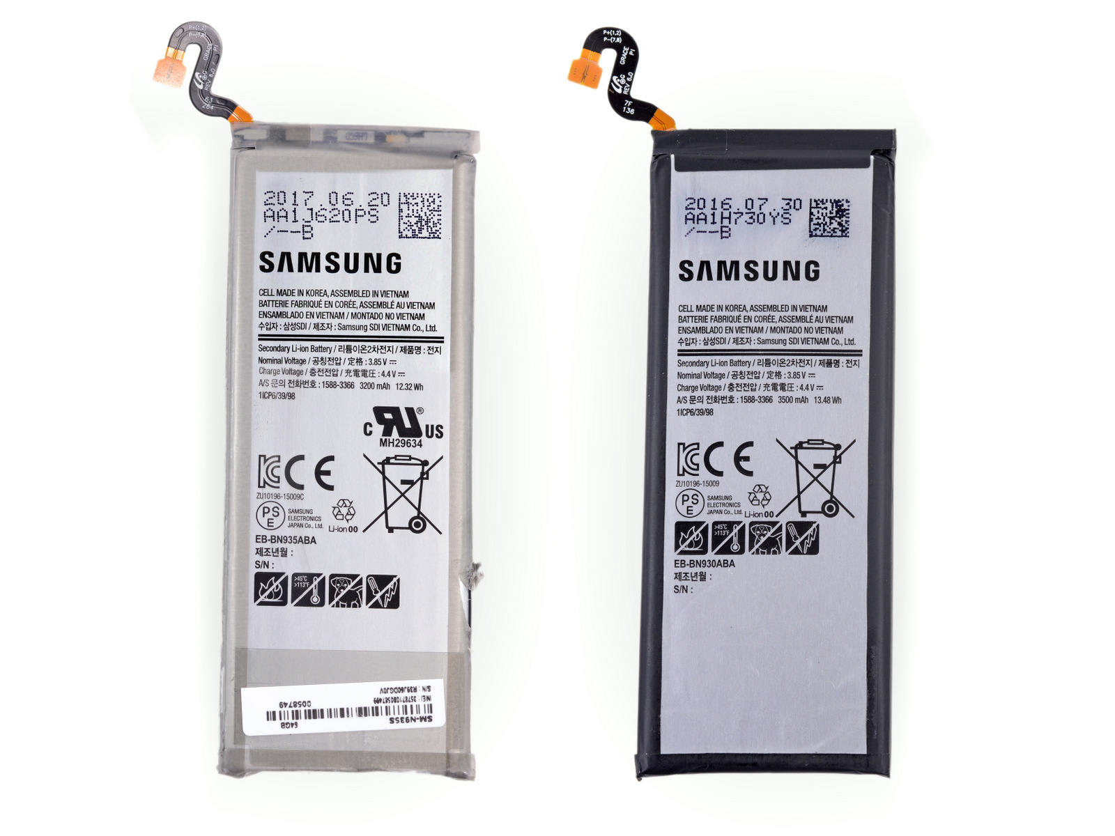 Samsung Galaxy Note FE baterie