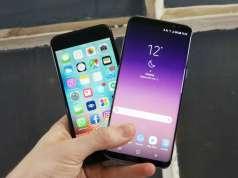 Samsung Galaxy S8 bani iPhone 7 jocuri