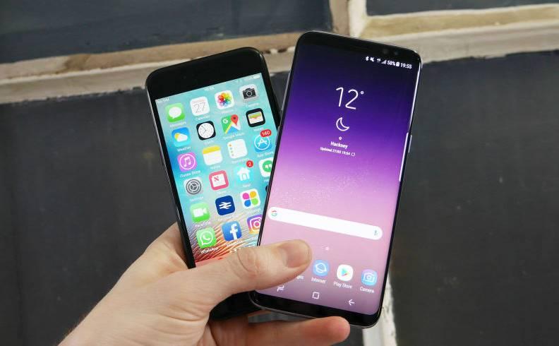 Samsung Galaxy S8 vanzari iphone 7