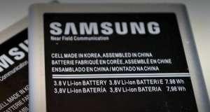 Samsung baterii sigure