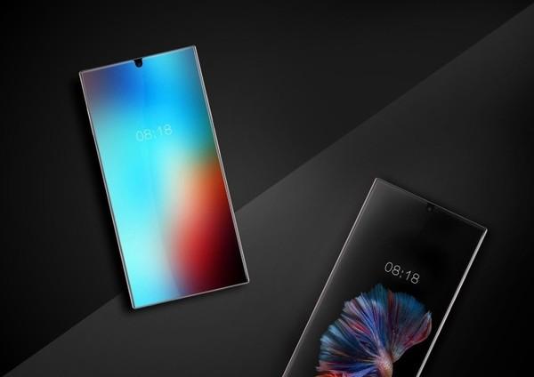 Sharp smartphone ecran carcasa