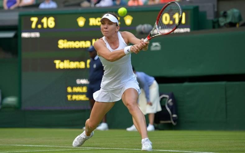 Simona Halep - Shuai Peng Wimbledon live tv online