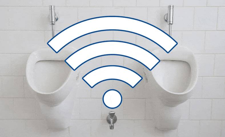 Wi-Fi public gratuit apalat wc