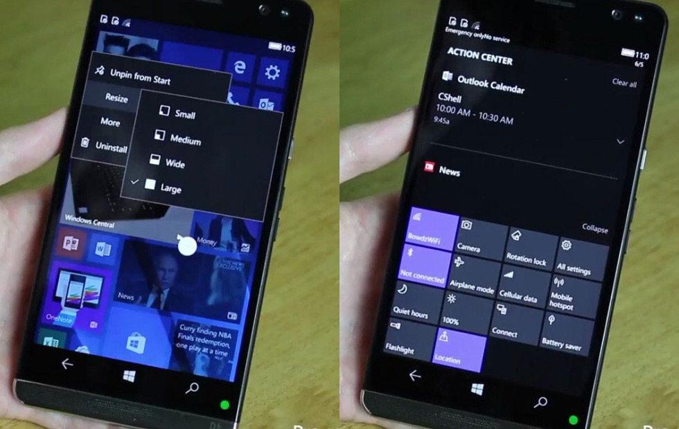 Windows 10 telefoane microsoft
