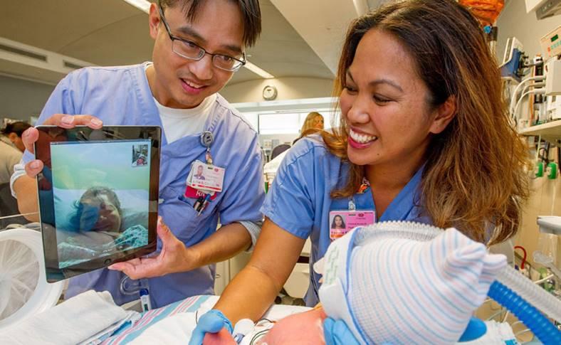 apple tablete ipad-pacientilor spitale