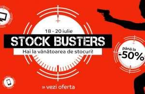emag 18 iulie stock busters mii reduceri